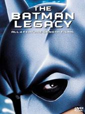 Batman Legacy Box Set on DVD
