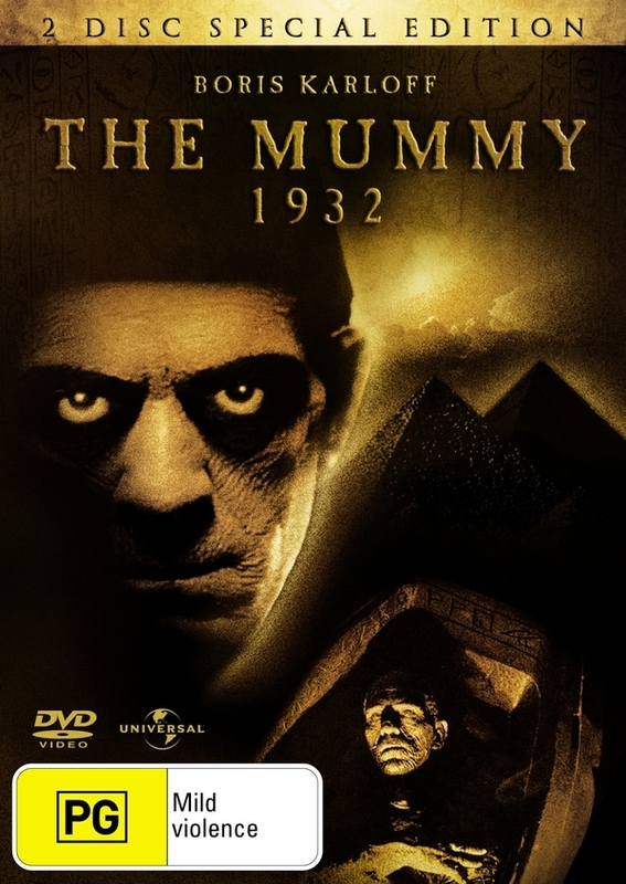 Mummy, The (1932) - Special Edition on DVD