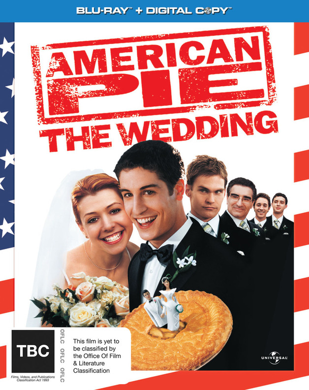 American Pie 3: The Wedding Blu-ray + Digital Copy on Blu-ray, DC