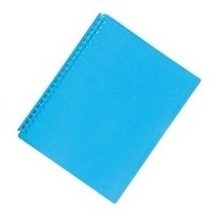 FM A4 20 Pocket Vivid Refillable Display Book - Ice Blue