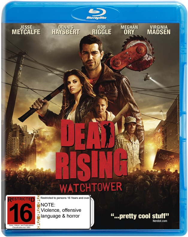Dead Rising: Watchtower on Blu-ray