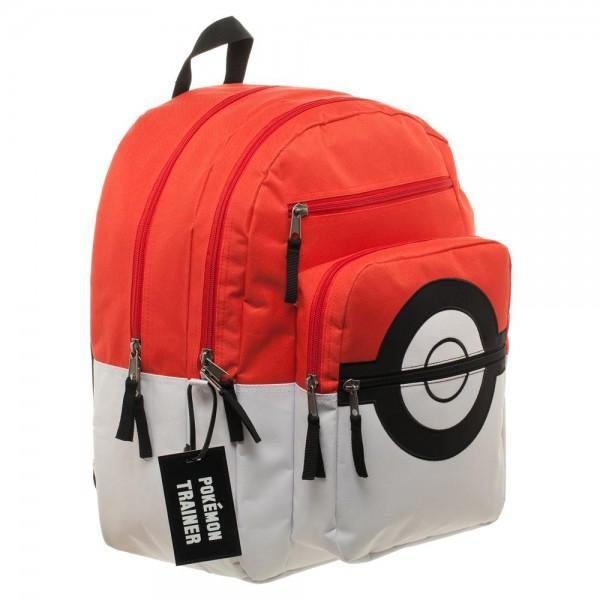 Pokemon Pokeball Backpack with Trainer Bag Charm image
