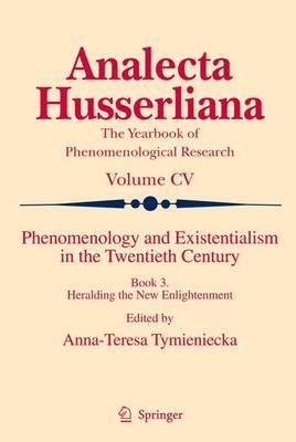 Phenomenology and Existentialism in the Twenthieth Century