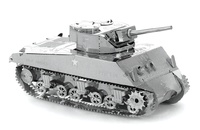 Metal Earth: Sherman Tank - Model Kit
