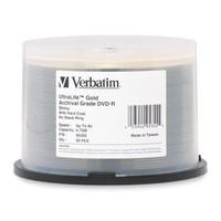 Verbatim DVD-R 4.7GB Gold Archival Grade HC 8x (50 Pack) image