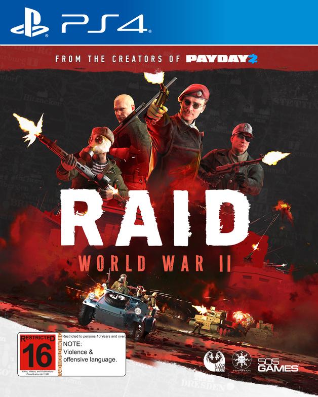 RAID: World War II for PS4