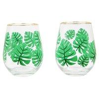Sunnylife: Monteverde Stemless Cocktail Glasses (Set of 2)