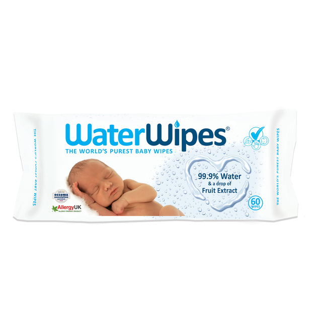 WaterWipes Baby Wipes (60 Wipes)