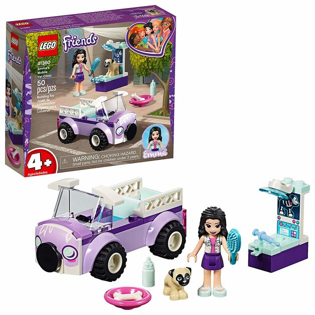 Lego Friends Emmas Mobile Vet Clinic 41360 Toy At Mighty Ape Nz