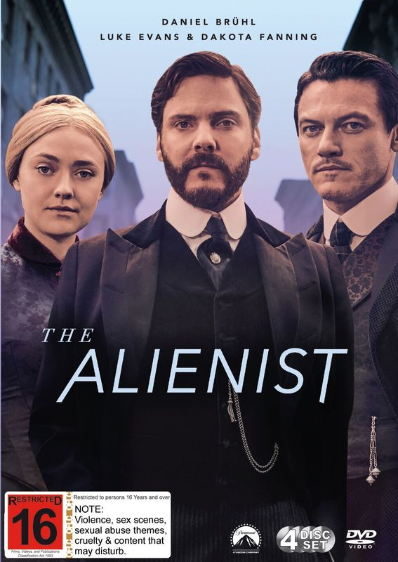 The Alienist - The Complete First Season on DVD