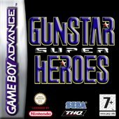 Gunstar Future Heroes for GBA