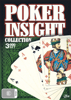 Poker Insight Collection (3 Disc Set) on DVD
