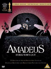 Amadeus - Director's Cut (2 Disc Set) on DVD
