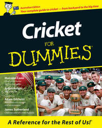 Cricket For Dummies<sup> (R)</sup> by Malcolm Conn
