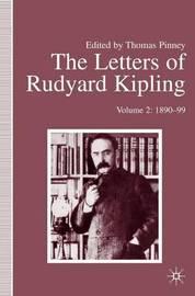 The Letters of Rudyard Kipling by R Kipling image
