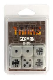 TANKS: German Dice Set (6pc)