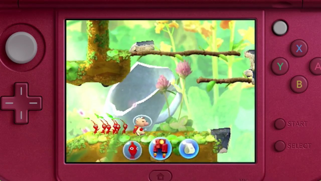 Hey! Pikmin for Nintendo 3DS image