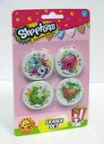 Shopkins: Erasers (4pk)