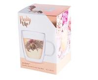 Pinky Up: Avery Double Walled - Glass Tea Mug image