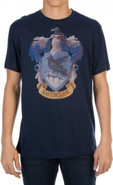 Harry Potter Ravenclaw Emblem T-Shirt (XX-Large)