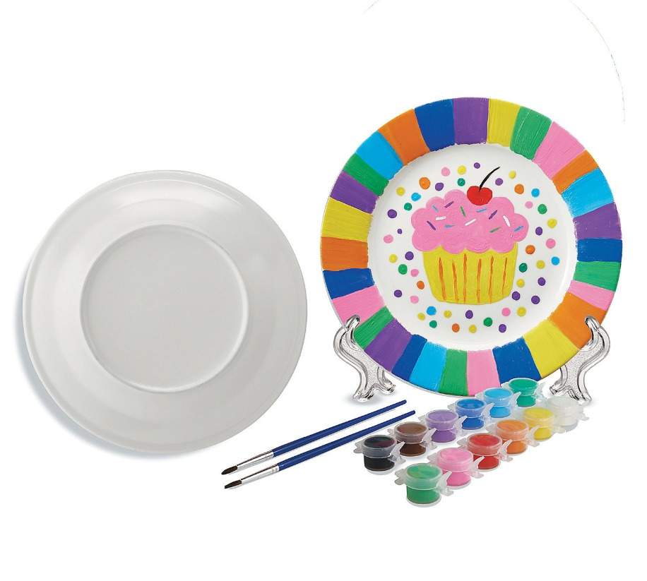 Mindware Create: Paint Your Own - Porcelain Plates image