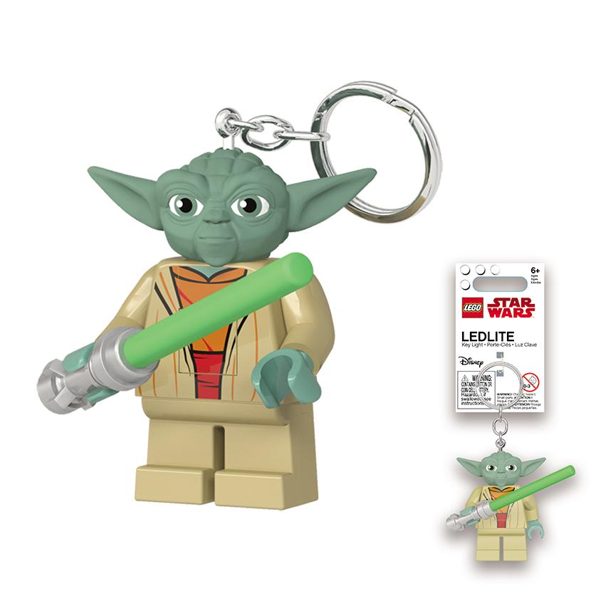 LEGO Yoda with Lightsaber Keylight image