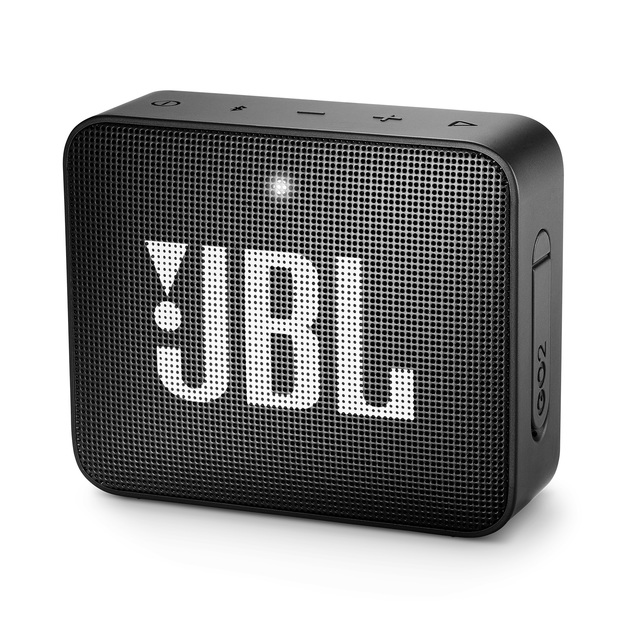 JBL Go 2 Speaker Bluetooth Speaker - Midnight Black