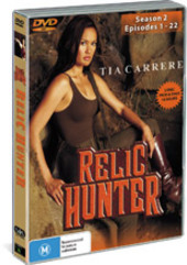 Relic Hunter - Season 2 (5 Disc Set) on DVD