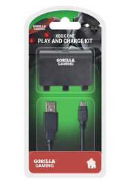 Gorilla Gaming Xbox One Play and Charge Kit for Xbox One image