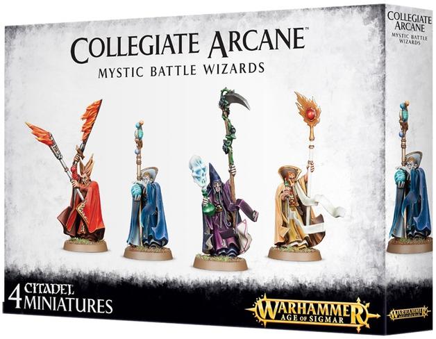 Warhammer Age of Sigmar: Collegiate Arcane Mystic Battle Wizards