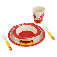 Sunnylife Eco Kids Meal Set - Crabby