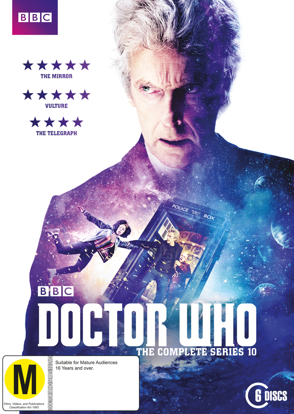 Doctor Who - The Complete Series 10 on DVD image