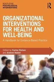 Organizational Interventions for Health and Well-being image