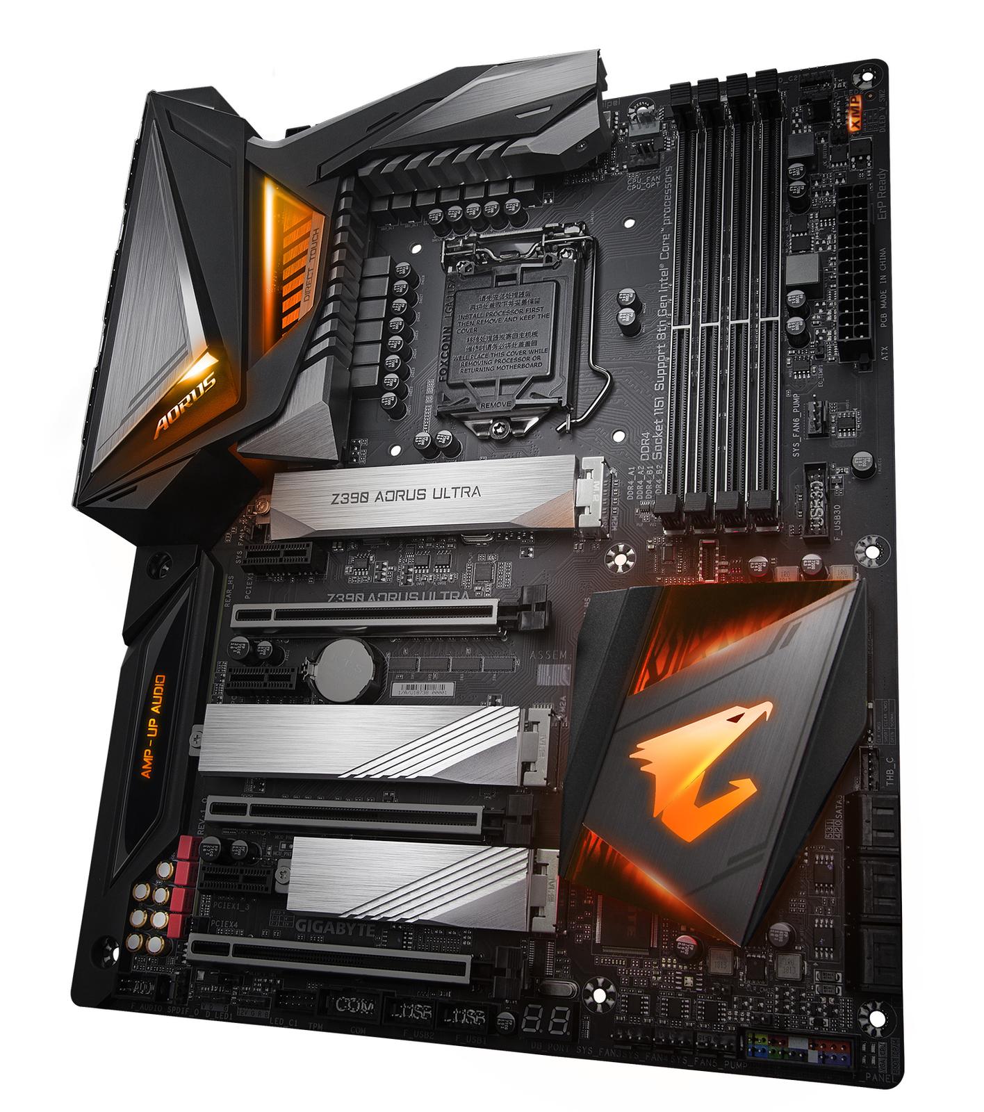Gigabyte Z390 Aorus Ultra Motherboard image