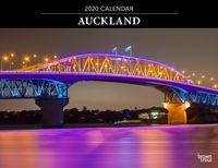 Auckland 2020 Horizontal Wall Calendar image