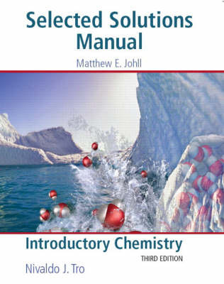 Introductory Chemistry: Selected Solutions Manual by Matthew Johll image