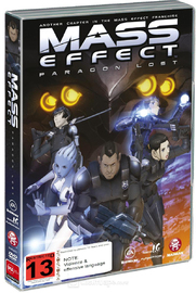 Mass Effect Paragon Lost Dvd Buy Now At Mighty Ape Nz