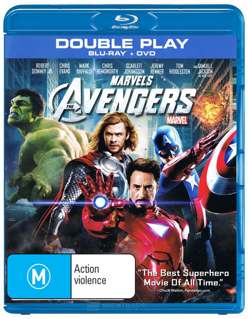 The Avengers on Blu-ray image