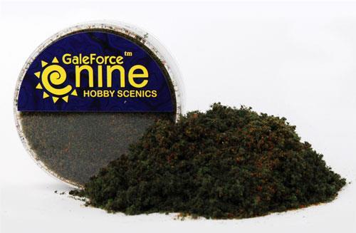 Gale Force Nine Hobby Round Dark Conifer Flock Blend