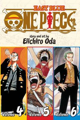 One Piece Omnibus 2: East Blue 4-5-6 (3 Books in 1) by Eiichiro Oda