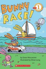 Bunny Race! by Grace Maccarone image