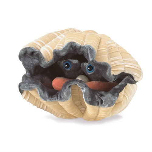 Folkmanis Hand Puppet - Giant Clam