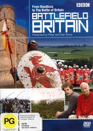 Battlefield Britain (3 Disc Set) on DVD image