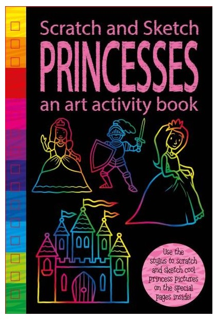 Scratch & Sketch: Activity Book - Princess