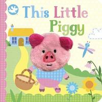 Little Learners This Little Piggy Finger Puppet Book by Parragon Books Ltd image
