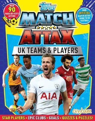 Match Attax UK Players Handbook by Centum Books Ltd