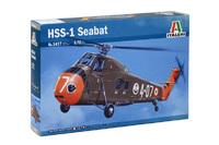 Italeri 1/72 HSS-1 Seatbat - Scale Model Kit