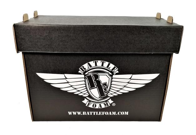 Battlefoam: Medium Stacker Box (Black)
