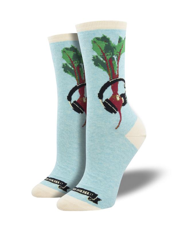 Socksmith: We Got The Beet - Blue Heather