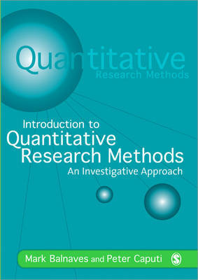 Introduction to Quantitative Research Methods by Mark Balnaves image